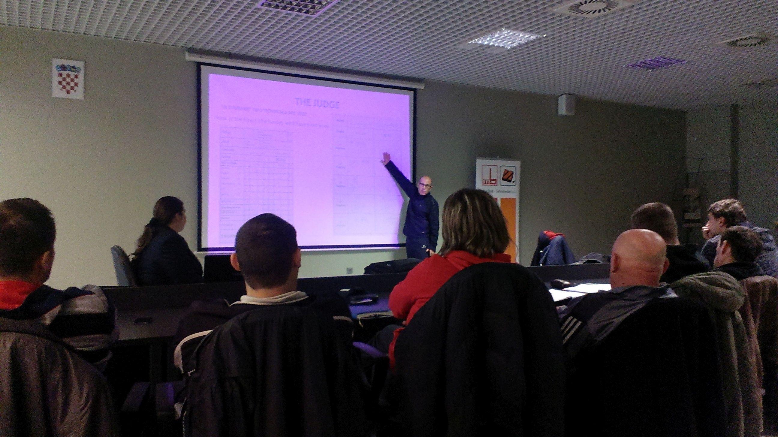 Seminar u  organizaciji Savate kluba F.C. Kovačić i Balkanskog Savate Komiteta, 24. 01. 2015